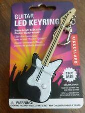 Nwt Kikkerland Led Guitar Keyring With Light & Sound