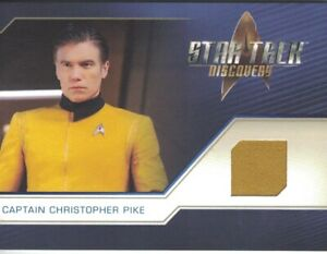 Star Trek Discovery Two relic card RC13 Captain Christopher Pike Solid