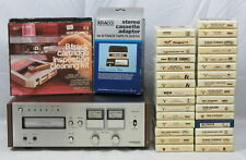 Vintage Pioneer Centrex 8-Track Stereo Tape Player Rh-60 w/31 Cartridges Works