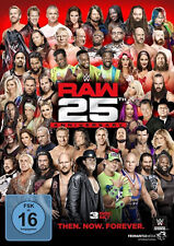 WWE Monday Night Raw 25th Anniversary 3x DVD alemán versión comercial
