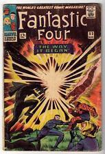 Marvel Comics  VG- 3.5  FANTASTIC FOUR #53 2nd BLACK PANTHER 1st Klaw origin