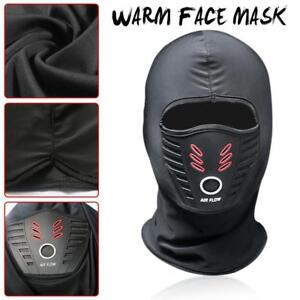 Balaclava Ski Full Face Mask Winter Motorcycle Cycling Thermal Windproof SAC UK