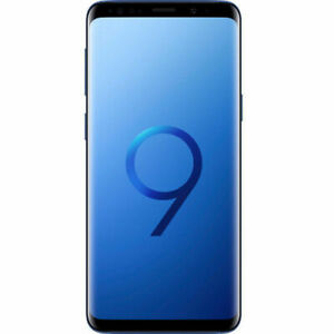 "Samsung Galaxy S9 G960FD 256GB Blue 5.8"" Super AMOLED Android Phone By FedEx"