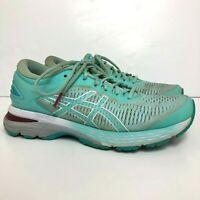 Asics Gel-Kayano 25 Women's Size US 8 Athletic Running Walking Shoes Aqua Blue
