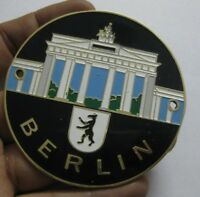BERLIN CAR GRILL BADGE EMBLEM LOGOS METAL ENAMLED CAR GRILL BADGE LOGOS METAL BA