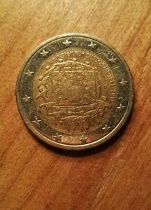 Moneta 2 Euro Commemorativa  2015 Bandiera Europea BundesRepublik Germania D