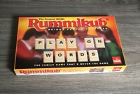 VINTAGE THE ORIGINAL WORD RUMMIKUB GAME GOLIATH 1995 100% COMPLETE  Box Opened