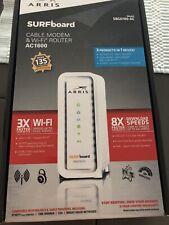 arris cable modem & Wifi Router