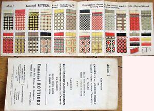 Ceramic Tile 1920s Color Litho Advertising Brochure/Catalog-Willebroeck, Belgium