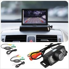 Car Reverse Rear View Backup Night Vision License Camera+ 4.3 HD TFT LCD Monitor