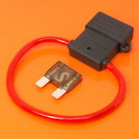 High Quality Maxi Blade Fuse Holder with 70 Amp Brown Fuse Car Van Boat Fuses