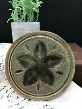 Gorgeous Pigeon Forge, TN Round Flower Pottery Trivet or Coaster 5