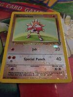 Hitmonchan Best of Game Promo 2 Winner Stamped - Reverse Holo Pokemon Card - LP