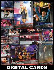 Topps SLAM WWE WRESTLEMANIA 36 (2020) TOPPS NOW [15 CARD SET] Alexa/Gronkowski++