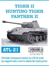 1/35 FRIULMODEL ATL-21 METAL TRACKS for GERMAN PANTHER II TIGER II HUNTING TIGER
