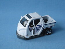 Matchbox New York  NYPD Police Buggy Scooter White 55mm Toy Model UB