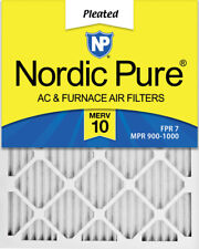 Nordic Pure 12x18x1 Pleated Merv 10 Air Filters 6 Pack
