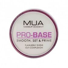 MUA PRO-BASE SMOOTH, SET & PRIME BALM BRAND NEW & SEALED ONLY £2.99 FREE POST !
