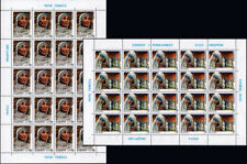 Albania 1998. 1st Deathday of Mother Teresa Joint Issue Albania-Italy. Sheet MNH