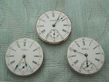 """Reloj Pulsera 3 X 15J Walthan V. viejo """"oficiales"""" movimientos, restauración o piezas ahora"""