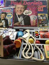 VINTAGE Paul Daniels Magic Tricks Set 100 Peter Pan Games 1984