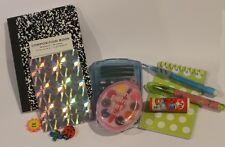 "Lovvbugg School Supplies 10 pc Set for 18"" American Girl Doll Accessory"