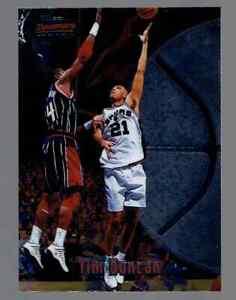 1997-98 Bowman's Best Tim Duncan Rookie RC Basketball Card