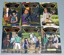 LOT of 6 CANTERWOOD CREST Horse Series CHILDREN Chapter BOOKS Jessica Burkhart