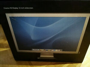 Apple Cinema Display 58,4 cm 23 Zoll 16:10 LCD Monitor Silber (M9178LL/A) OVP