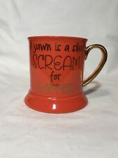 Funny Orange Halloween Coffee Mug