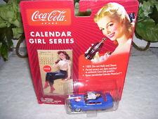 JOHNNY LIGHTNING COCA COLA CAR W/ CALENDAR GIRL SERIES '49 MERCURY 2003