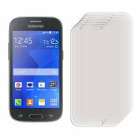 3 x Clear LCD Screen Protector Film Foil For Samsung Galaxy Ace 4 SM-G357FZ