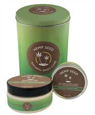 Hemp Seed Holiday Tin Bath & Body Gift Sets Little Spa Treatmeant New Guavalava