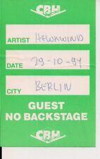 HAWKWIND Used Guest Pass Berlin 29.10.1994