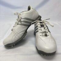 Women's Adidas Signature Natalie Golf Shoes Soft Spikes Size 7 M White 791003