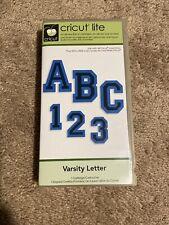 New listing Cricut Lite Cartridge Varsity Letter Complete Used 2000152