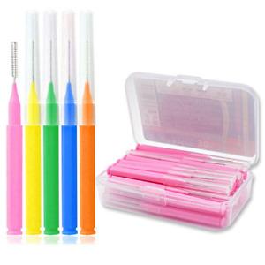 30Pcs/set I Shaped Interdental Brush Interdental Cleaner Orthodontic Dental Tool