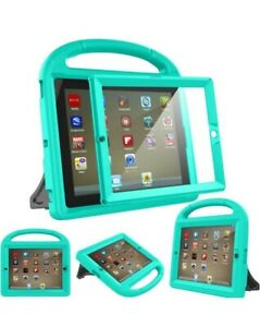 Kids Case for iPad 2 3 4 (Old Model)- Built-in Screen Protector