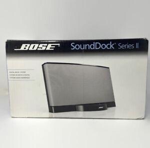 🔴 Bose SoundDock Series II Digital Music Speaker System Black - Factory Sealed