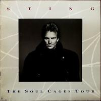 Sting Soul Cages Tour 1991 Tour Programme