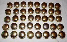 Lot Gold Tone Metal Drawer Pulls lot 40 pcs Furniture Knobs