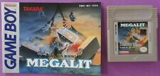 Megalit (Nintendo Game Boy, 1992) with Instruction Booklet
