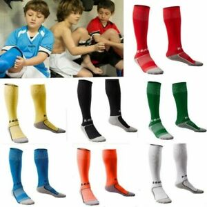 Kids Sport Baseball Football Soccer Plain Long Sock Over Knee High Sock 10 Color