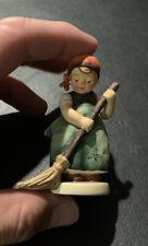 New ListingGoebel Hummel Figurine Girl With Broom #171 1986