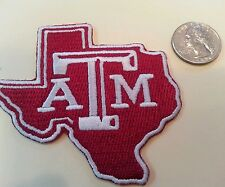 """Texas A&M  Aggies vintage embroidered iron on patch 3"""""""