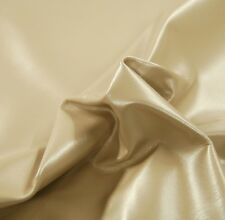 45 sf  Beige Pearlized Upholstery Leather Cow Hide Skin / Furniture e6bh