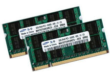 2x 2GB = 4GB Notebook Speicher RAM DDR2 667 Mhz SO-DIMM PC2-5300S Laptop Memory