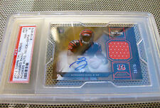 Mohamed Sanu rookie Topps Triple Threads AUTO PSA 8 Bengals