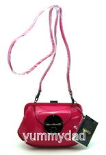 MIMCO HYBRID CLUTCH BAG IN LOLLYPOP PINK PATENT LEATHER  BNWT RRP$199