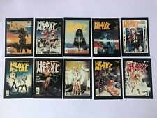 10 HEAVY METAL MAGAZINE Trading Cards   Collector Cards by Comic Images